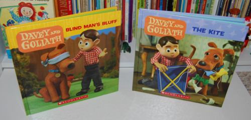 Davey & goliath books