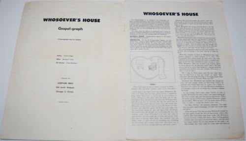 Whosoever's house 1