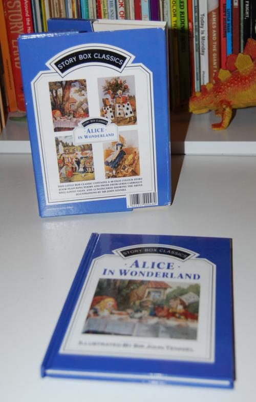 Alice in wonderland notecard set 1
