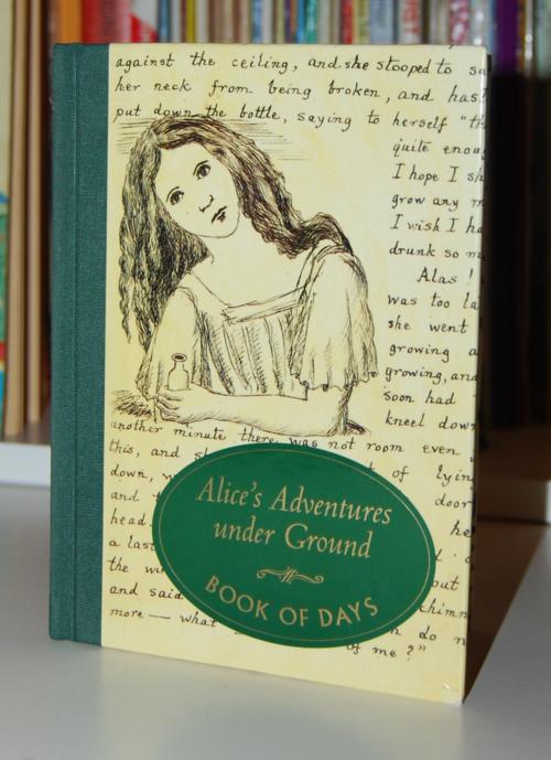 Alice's adventures underground book of days