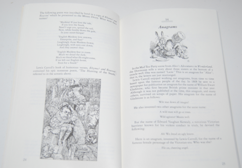 Rediscovered lewis carroll puzzles 7