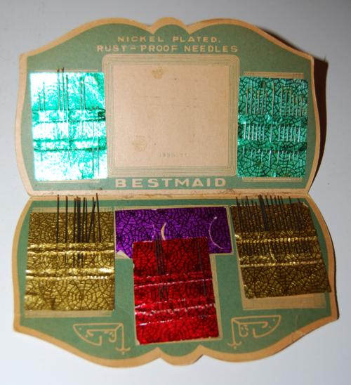 Vintage best maid needles x