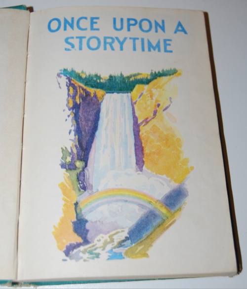 Once upon a storytime vintage reader 1