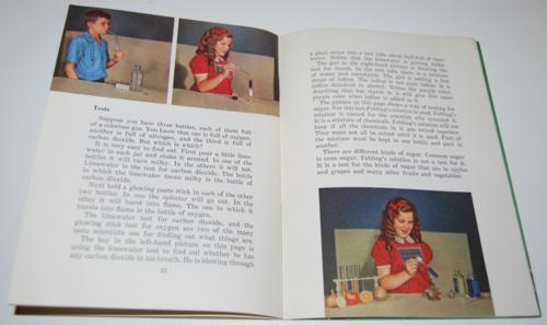 Vintage school science book 6