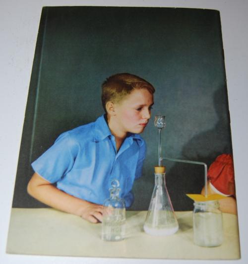 Vintage school science book x