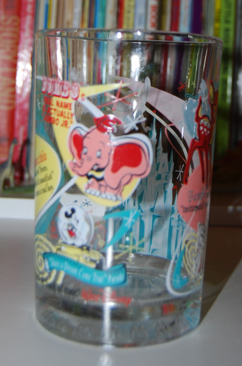 Mcdonalds disneyland glass 2