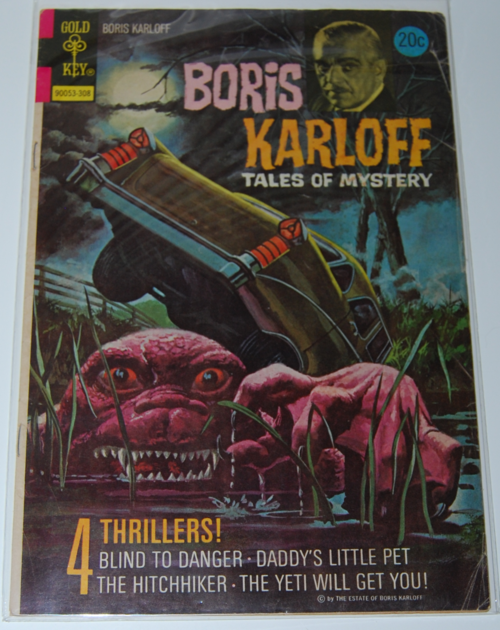 Boris karloff gold key comic
