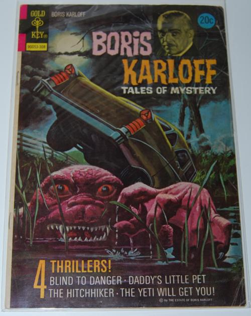 Boris karloff gold key comic