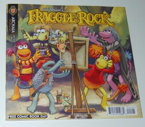 Fraggle rock free comic