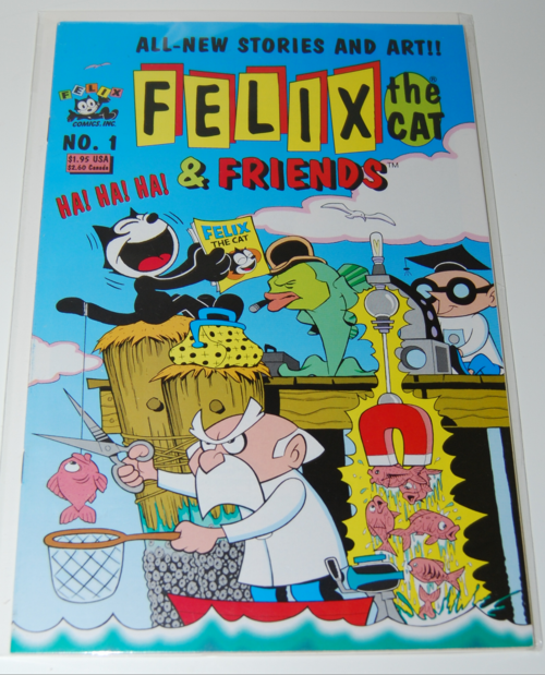 Felix the cat & friends comic 1