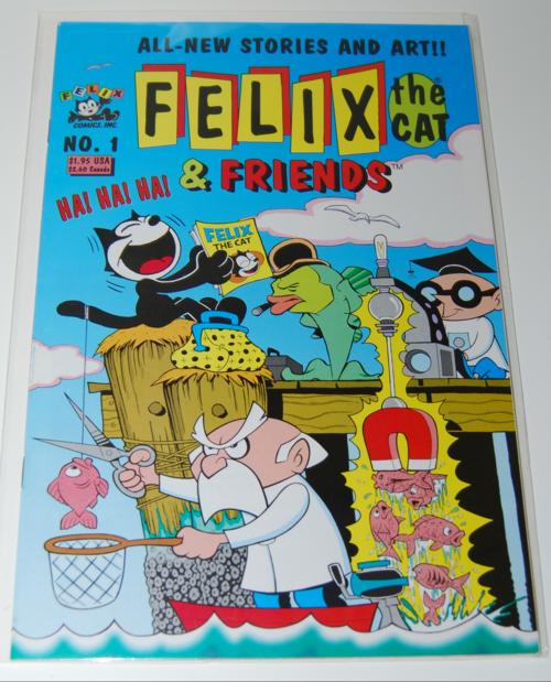 Felix the cat & friends comic 1