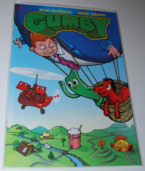 Gumby comic 1
