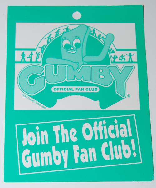Gumby fan club