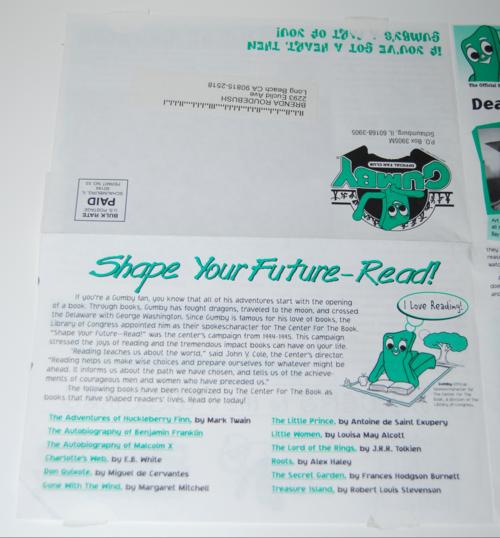 Gumbygram newsletter 2
