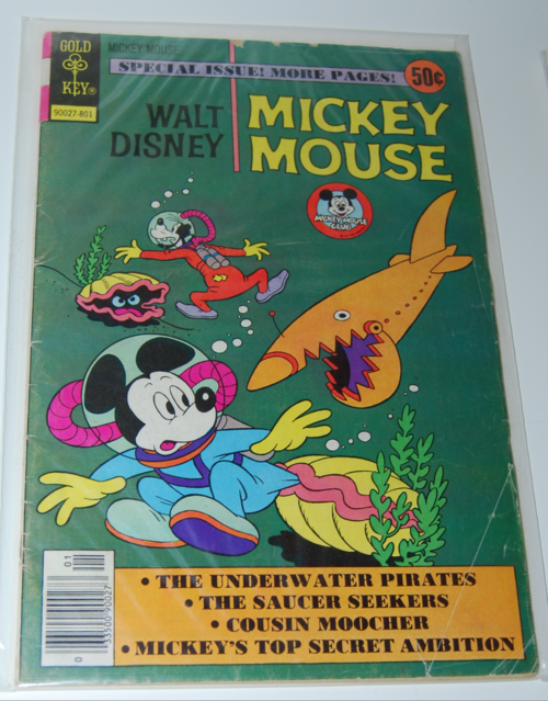Gold key mickey mouse comic