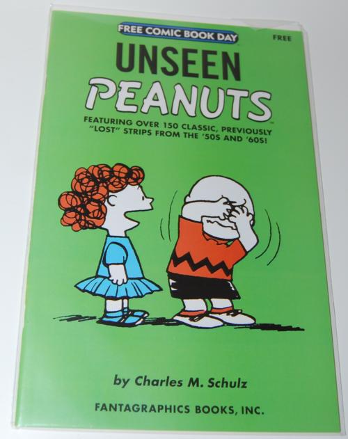 Peanuts fcbd comic
