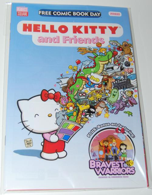 Hello kitty fcbd comic