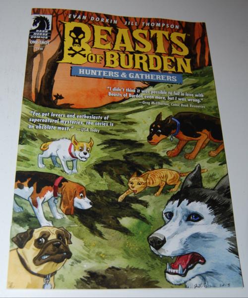 Beasts of burden comic