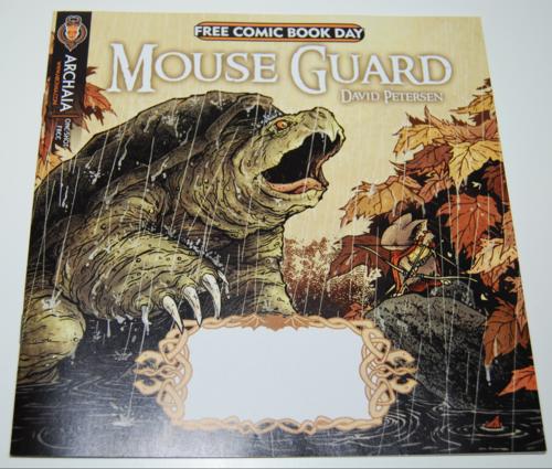 Mouseguard free comic
