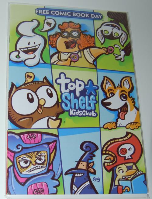 Top shelf comic