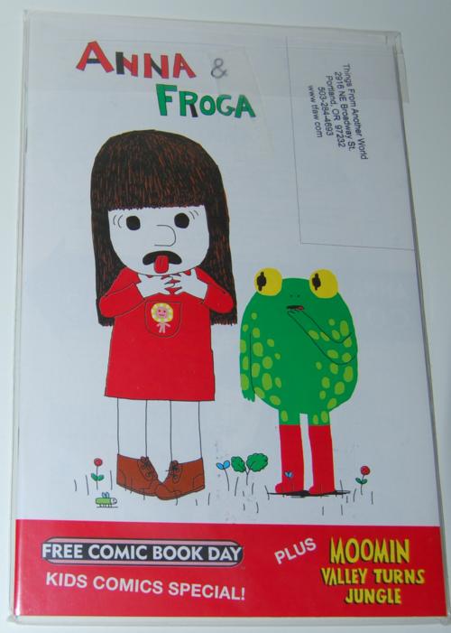 Anna & frog comic