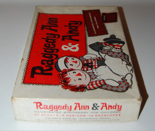 Raggedy ann stationery 1