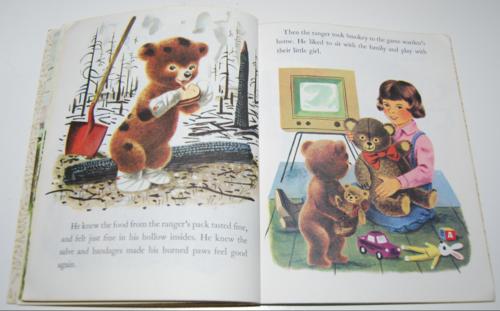 Smokey the bear little golden book 7