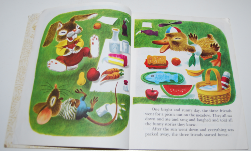Duck & his friends little golden book 3