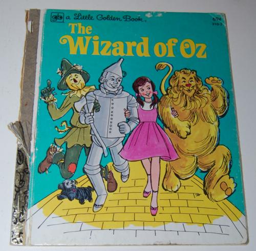 Little golden book wizard of oz