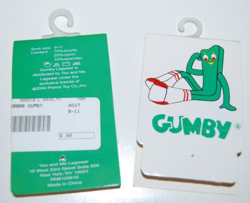 Gumby socks 5