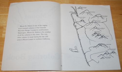 The original mt st helens coloring book 2