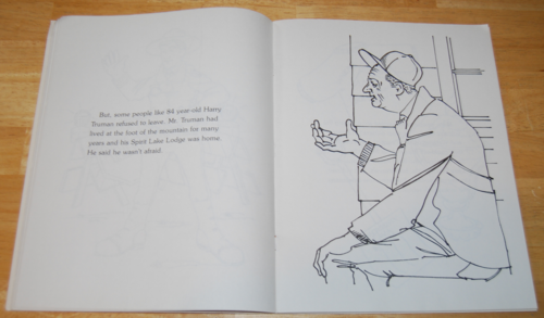 The original mt st helens coloring book 6