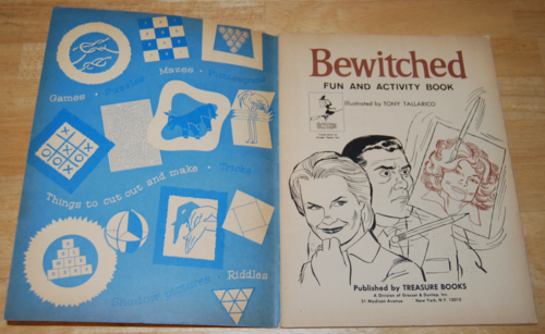 Bewitched vintage activity book 1