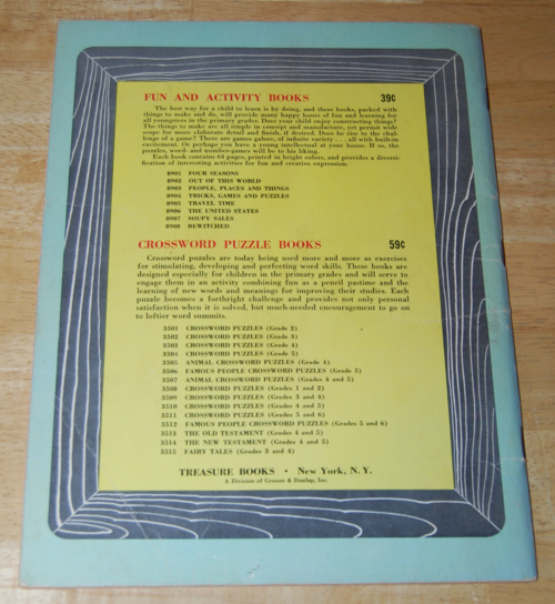 Bewitched vintage activity book x