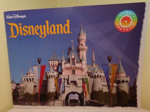 Disneyland pictorial souvenir book