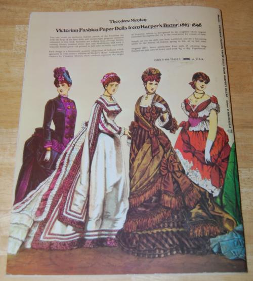 Victorian paperdolls x