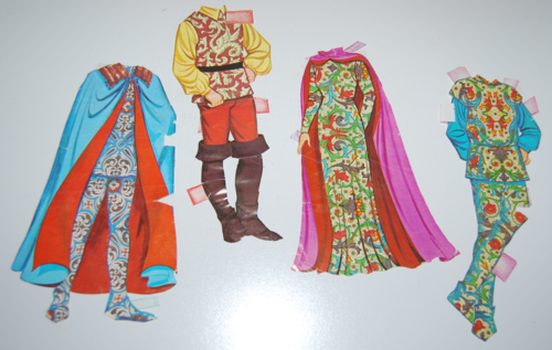 Disney snow white paper dolls 10