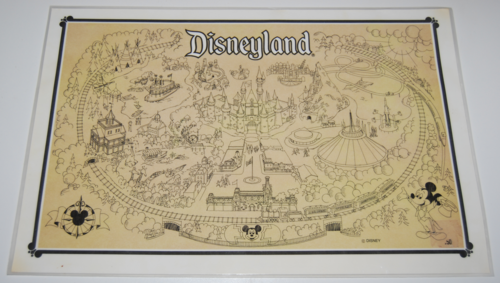 Snow white placemat