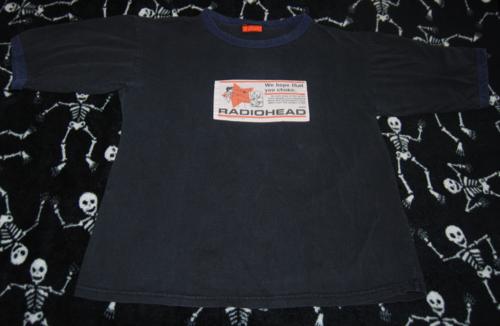 T shirts radiohead 8