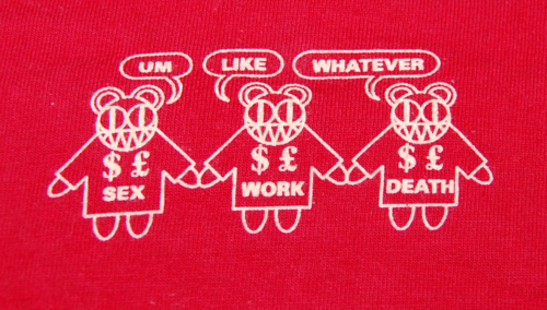 T shirts radiohead 5 x