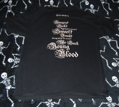 T shirts radiohead x