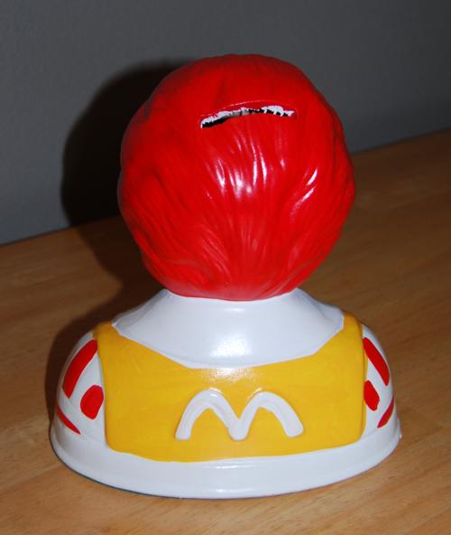 Ronald mcdonald bank 1