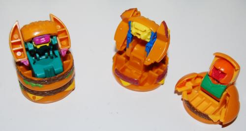 Mcdonalds robot toys 1
