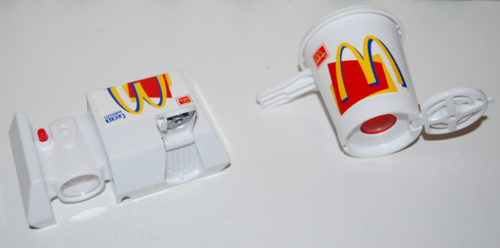 Mcdonalds changables toys 2
