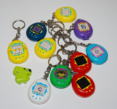 Tamagotchi keychain prizes