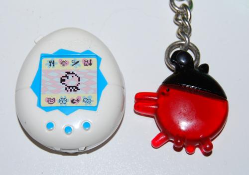 Tamagotchi keychain prizes 2