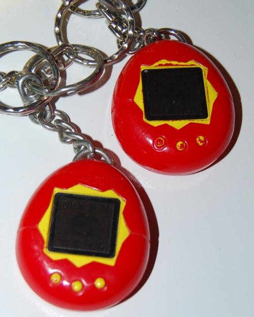 Tamagotchi keychain prizes 5