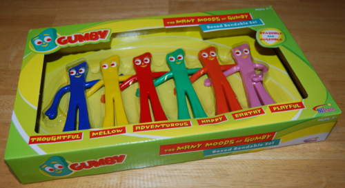 Many moods of gumby toys 2