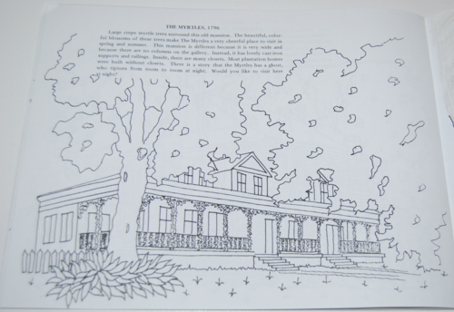 Louisiana plantation coloring book 9