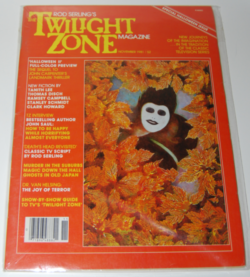 Twilight zone magazine 1982 5